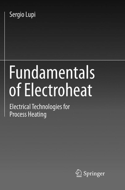 Fundamentals Of Electroheat: Electrical Technologies For Process Heating by Sergio Lupi