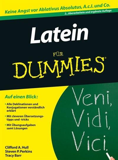 Latein Für Dummies de Clifford A. Hull