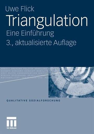 Triangulation: Eine Einführung by Uwe Flick