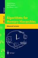Algorithms for Memory Hierarchies: Advanced Lectures