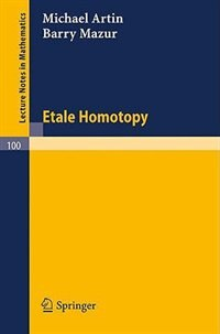 Etale Homotopy
