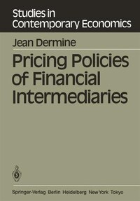 Pricing Policies of Financial Intermediaries