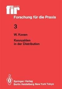 Kennzahlen in der Distribution by Werner Konen