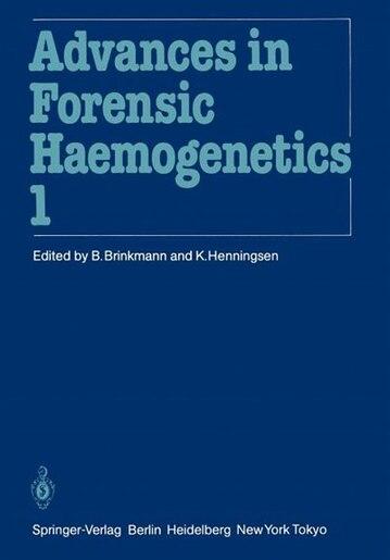 11th Congress of the Society for Forensic Haemogenetics (Gesellschaft für forensische Blutgruppenkunde e.V.): Copenhagen, August 6-10, 1985 by W. Spielmann