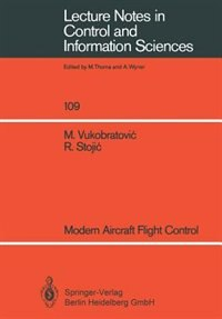 Modern Aircraft Flight Control by Miomir Vukobratovic