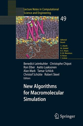 New Algorithms for Macromolecular Simulation by Benedict Leimkuhler