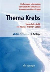 Thema Krebs: #NAME? by Hilke Stamatiadis-Smidt