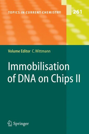 Immobilisation of DNA on Chips II by Christine Wittmann