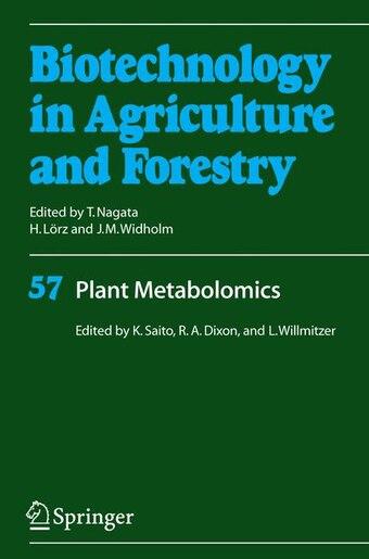 Plant Metabolomics by Kazuki Saito