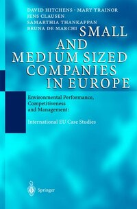 Small and Medium Sized Companies in Europe: Environmental Performance, Competitiveness and…