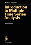 Introduction to Multiple Time Series Analysis by Helmut Lütkepohl