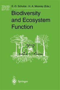 Biodiversity And Ecosystem Function by Ernst-detlef Schulze
