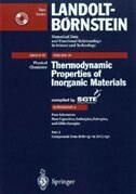 Pure Substances. Part 2 _ Compounds from BeBr_g to ZrCl2_g by Scientific Group Thermodata Europe (SGTE)