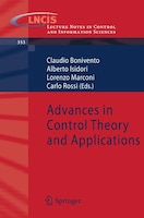 Advances in Control Theory and Applications