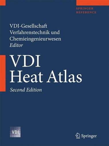 VDI Heat Atlas by VDI Gesellschaft
