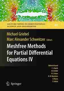 Meshfree Methods for Partial Differential Equations IV by Michael Griebel