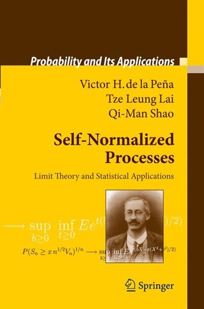 Self-Normalized Processes: Limit Theory and Statistical Applications by Victor H. Pe