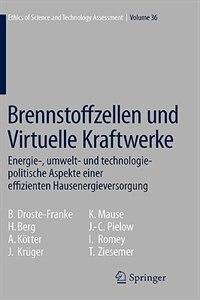 Brennstoffzellen und Virtuelle Kraftwerke: Energie-, umwelt- und technologiepolitische Aspekte einer effizienten Hausenergieversorgung by Bert Droste-Franke