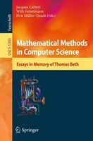 Mathematical Methods in Computer Science: Essays in Memory of Thomas Beth
