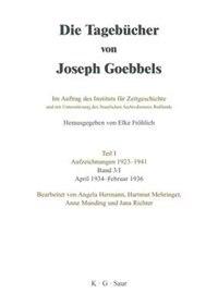 April 1934 - Februar 1936 by Joseph Goebbels