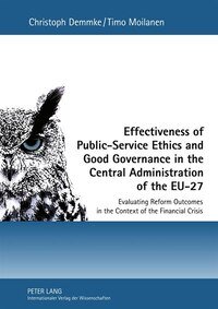 Effectiveness of Public-Service Ethics and Good Governance in the Central Administration of the EU…