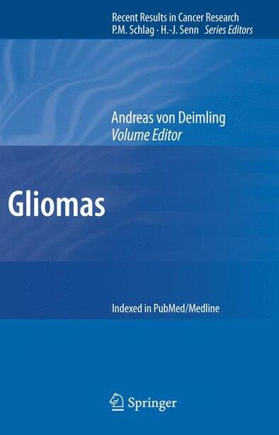 Gliomas by Andreas Deimling