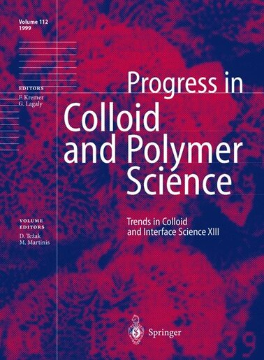 Trends in Colloid and Interface Science XIII by Durdica Tezak