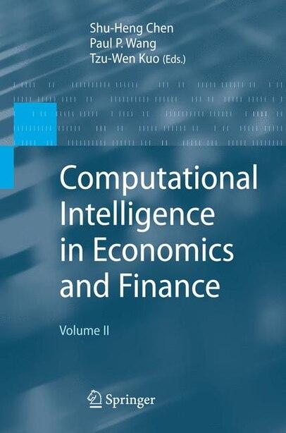 Computational Intelligence in Economics and Finance: Volume II by Paul P. Wang