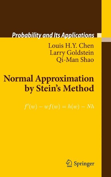 Normal Approximation by Stein's Method by Louis H.Y. Chen