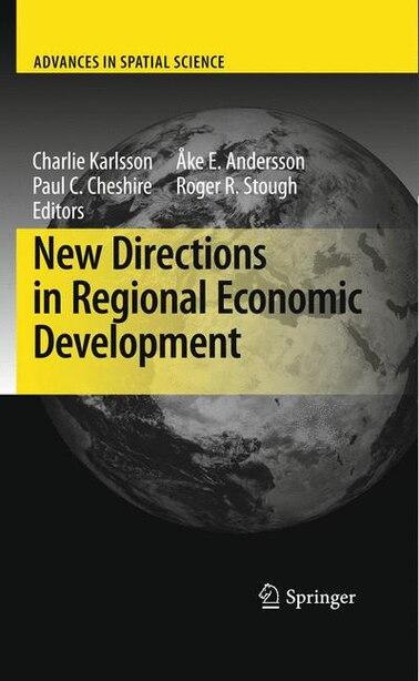 New Directions in Regional Economic Development by Charlie Karlsson