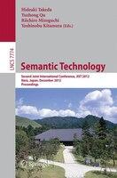 Semantic Technology: Second Joint International Conference, JIST 2012, Nara, Japan, December 2-4…
