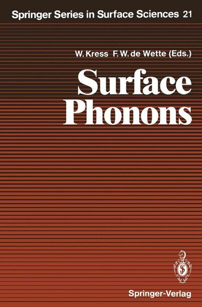 Surface Phonons by Giorgio Benedek