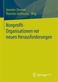 Nonprofit-Organisationen vor neuen Herausforderungen by Annette Zimmer