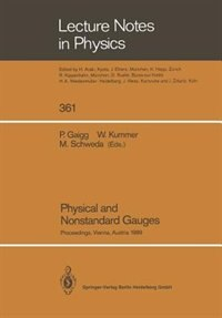 Physical and Nonstandard Gauges: Proceedings of a Workshop Organized at the Institute for Theoretical Physics of the Technical Unive by Peter Gaigg