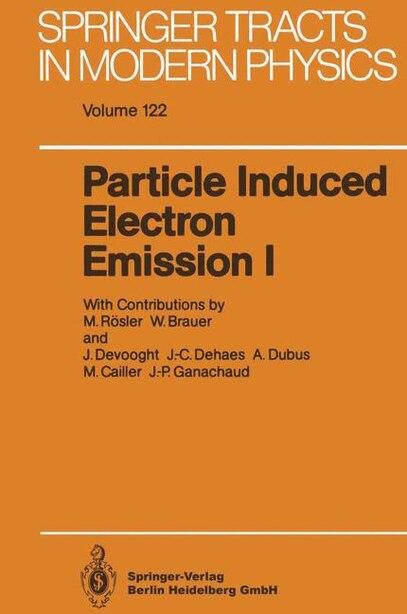 Particle Induced Electron Emission I by Max Rösler