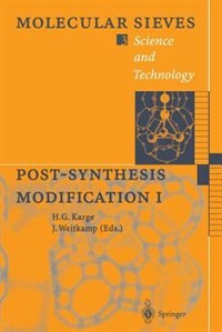 Post-Synthesis Modification I by Hellmut G. Karge