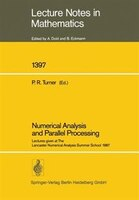 Numerical Analysis And Parallel Processing: Lectures Given At The Lancaster Numerical Analysis…