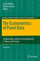 The Econometrics Of Panel Data: Fundamentals And Recent Developments In Theory And Practice