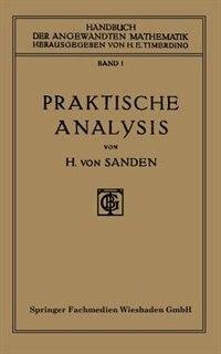 Praktische Analysis by Dr. Horst von Sanden