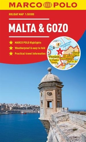 Malta And Gozo Marco Polo Holiday Map by Marco Polo Travel Publishing
