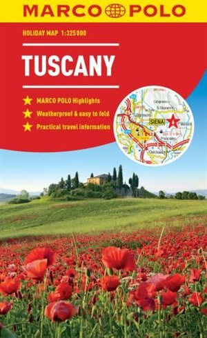 Tuscany Marco Polo Holiday Map by Marco Polo Travel Publishing