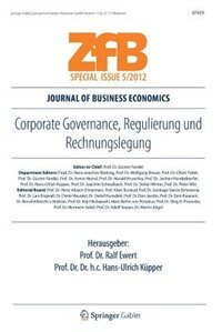 Corporate Governance, Regulierung und Rechnungslegung by Oliver Ewert
