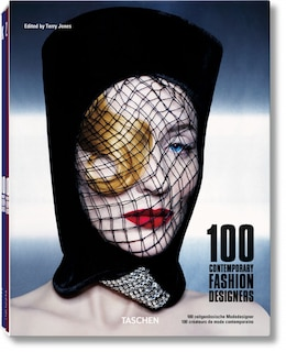 Book 100 Contemporary Fashion Designers by Terry Jones