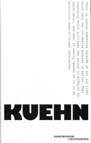 Gary Kuehn: Cat. Kunstmuseum Liechtenstein by Gary Kuehn