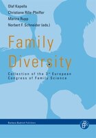 Family Diversity: Collection of the 3rd European Congress of Family Science