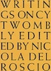 Writings on Cy Twombly by Cy Twombly