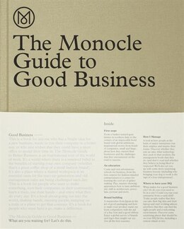 Book The Monocle Guide To Good Business by Monocle