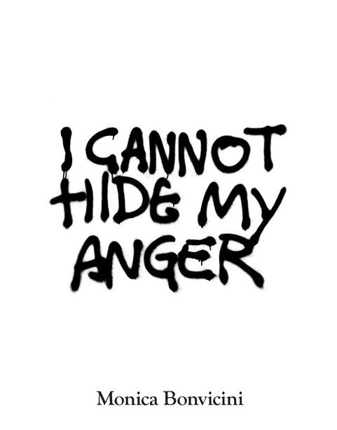 Monica Bonvicini: I Cannot Hide My Anger by Monica Bonvicini