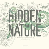 Hidden Nature: A Coloring Escape For Grown-ups