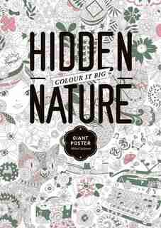 The Hidden Nature Coloring Poster by Toc De Groc